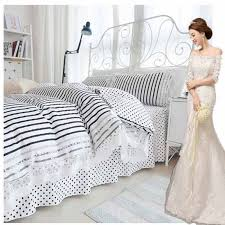 Striped Comforter High Quality Black And White Striped Comforter Set Promotion Shop