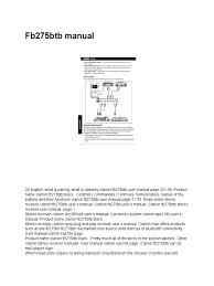 fb275btb manual automotive industry vehicles