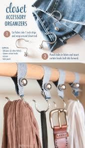 13 easy diy closet organizers shelterness