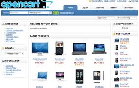 opencart php based online shopping cart system dreamcss