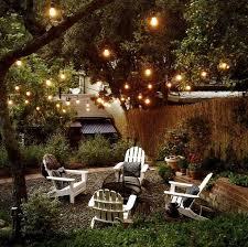 Lighting Ideas For Backyard Outdoor Room Ambience Globe String Lights The Garden Glove