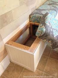 Diy Wooden Storage Bench by Long Storage Bench Plans Google Search Diy Furniture