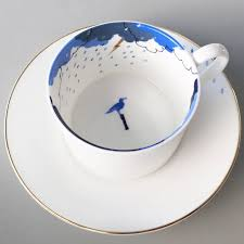 storm in a teacup fine bone china storm in a teacup sea gull design by