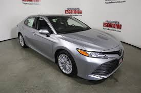 new 2018 toyota camry xle v6 4dr car in escondido 1015273