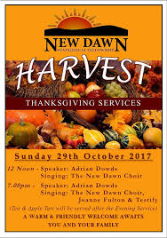 harvest thanksgiving services at new the churchpage