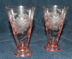 Hughes Cornflower Crystal Cordials Hughes Cornflower 7 1 2
