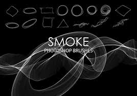 free abstract smoke photoshop brushes 4 free photoshop brushes