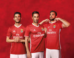 the benfica 16 17 home and away kits introduce clean designs