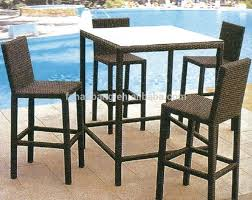 Bar Height Dining Chairs Bar Stools Bar Table And Stools 5 Piece Counter Height Dining