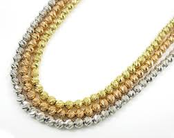 make gold chain necklace images 14k solid gold diamond cut ball chain 20 inch 2 5mm jpg