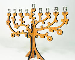 travel menorah chanukiah etsy