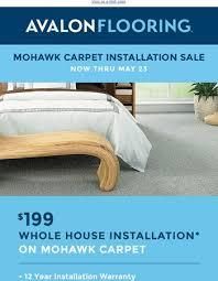 avalon carpet tile and flooring semi annual tile sale extended