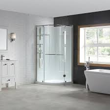 Bathroom Shower Inserts Shower Stalls Kits Showers The Home Depot