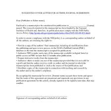 Pnas Cover Letter Journal Paper Cover Letter Image Collections Cover Letter Ideas
