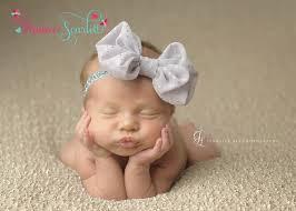 newborn headbands entire order gray chiffon bow newborn headband baby headband