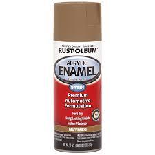shop rust oleum automotive espresso fade resistant enamel spray