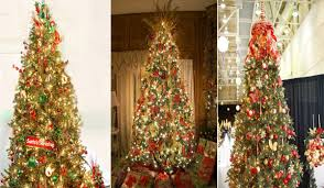 gold christmas and gold christmas tree decoration ideas that are actually brilliant