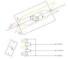 electrical motor connection notes articles how wiring diagram
