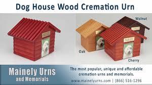 k 9 cottage wood pet cremation urns