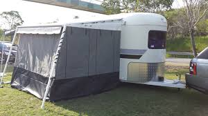 Aussie Traveller Awnings Australia Wide Annexes Gold Coast Awnings For Horse Floats