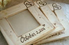 personalized wedding favors set of 4 table number frames or personalized wedding favors with
