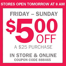 black friday weekend sally 5 25 couponista