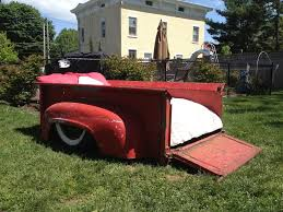 Vintage Ford Truck Forum - bedroom set out of 1956 ford truck bed the h a m b