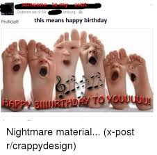 Happy Feet Meme - imburg gisteren om 959 this means happy birthday proficiat