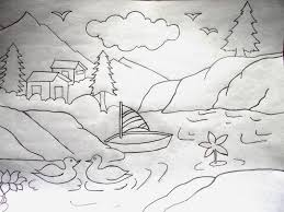 pencil drawing of natural scenery jpg 1600 1200 drawing ideas
