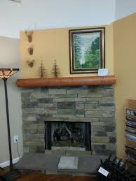 fresh simple removing fireplace brick facade 23938