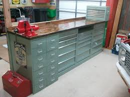 what i did with my 40 home depot tool cabinets the garage