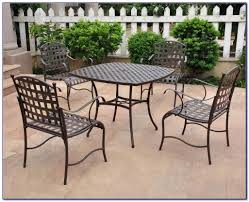 Vintage Wrought Iron Patio Table And Chairs Antique Wrought Iron Patio Table