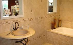 bathroom floor covering ideas beige marble wrapped in curved