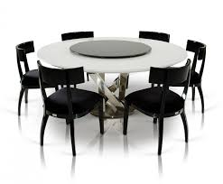 Modern Round Dining Room Tables Modern Round Dining Table For 6