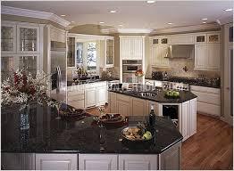 black granite countertops white kitchen cabinets white cabinets black countertops antique white kitchen