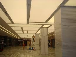 avm sapphire foyer design gergi tavan çalışmalarımız stretch