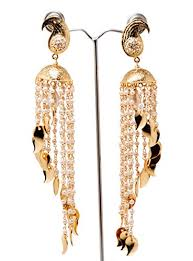 jhumka earrings gold jhumka earrings cascade jhumkas dome