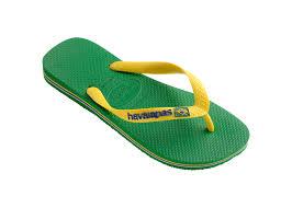 havaianas flip flops havaianas brasil logo green