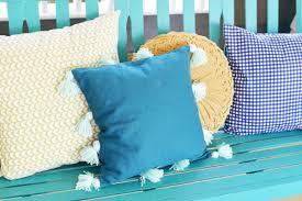 tassel pillow