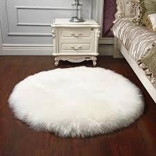 fur chair cover sheepskin chair cover wool carpet chair cover bedroom faux mat
