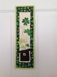 st patrick s day table runner st patrick s day table topper shamrock quilted table topper irish