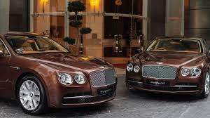 bentley limo luxury chauffeured limousine service the st regis singapore
