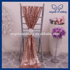 chair sashes for weddings sh005b new fancy wedding christmas gold sequin