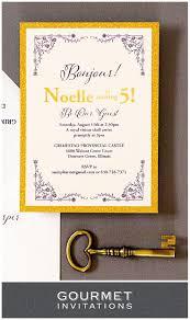 beauty and the beast invitations gourmet invitations