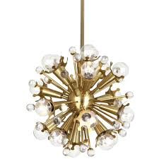 Chandeliers For Sale Uk by Jonathan Adler Meurice Brass Chandelier Jonathan Adler Sputnik