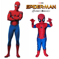 aliexpress com buy new spiderman homecoming cosplay kids costume