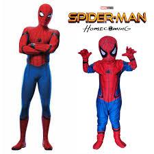 halloween costumes for teen boys aliexpress com buy new spiderman homecoming cosplay kids costume