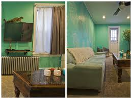 Neon Green Curtains by Splendiferous Interiors Green Menagerie In South Philly