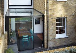 Glass Box House Jewel Like Glass Box Deftly Extends A Victorian House In London U0027s
