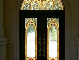 stained glass for front door leaded glass inserts for front doors gallery glass door